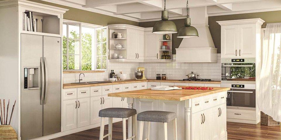2020's Most Popular Kitchen Cabinet Paint Colors - Savona ...