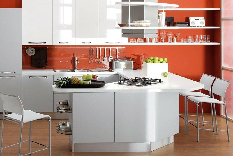 Multicolored Kitchen Cabinet Style