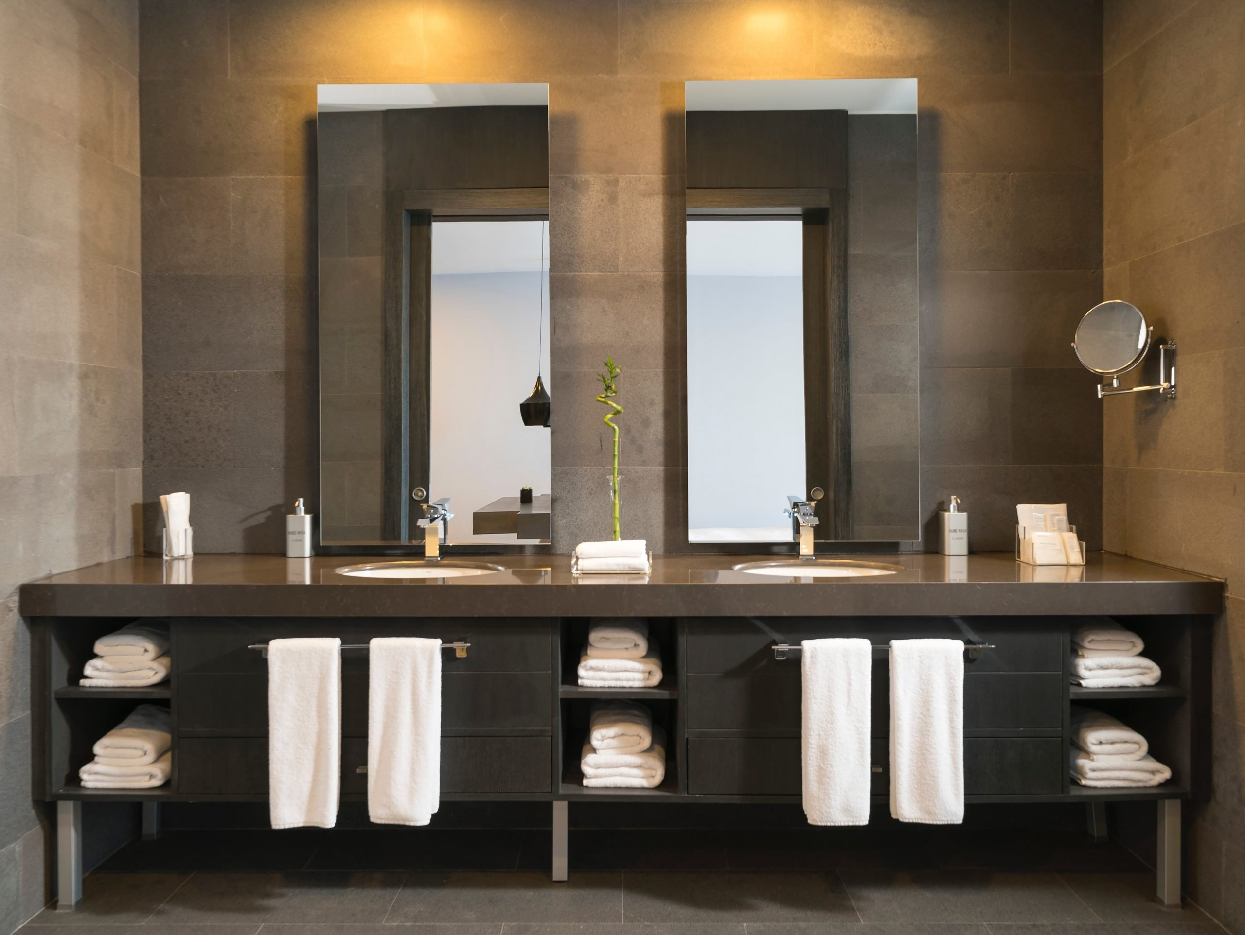 Bathroom Tiles Dark