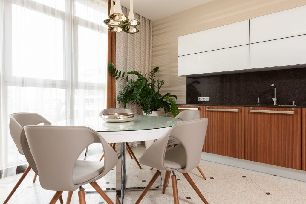 Modern Laminate Kitchen Cabinets