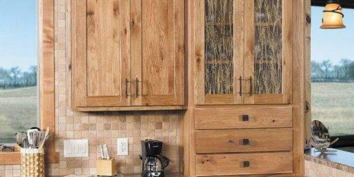 Rustic Design Kitchen Cabinets Models