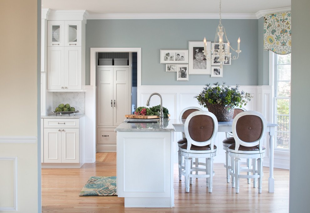 Perfect Kitchen Wall Colors With White Kitchen Cabinets