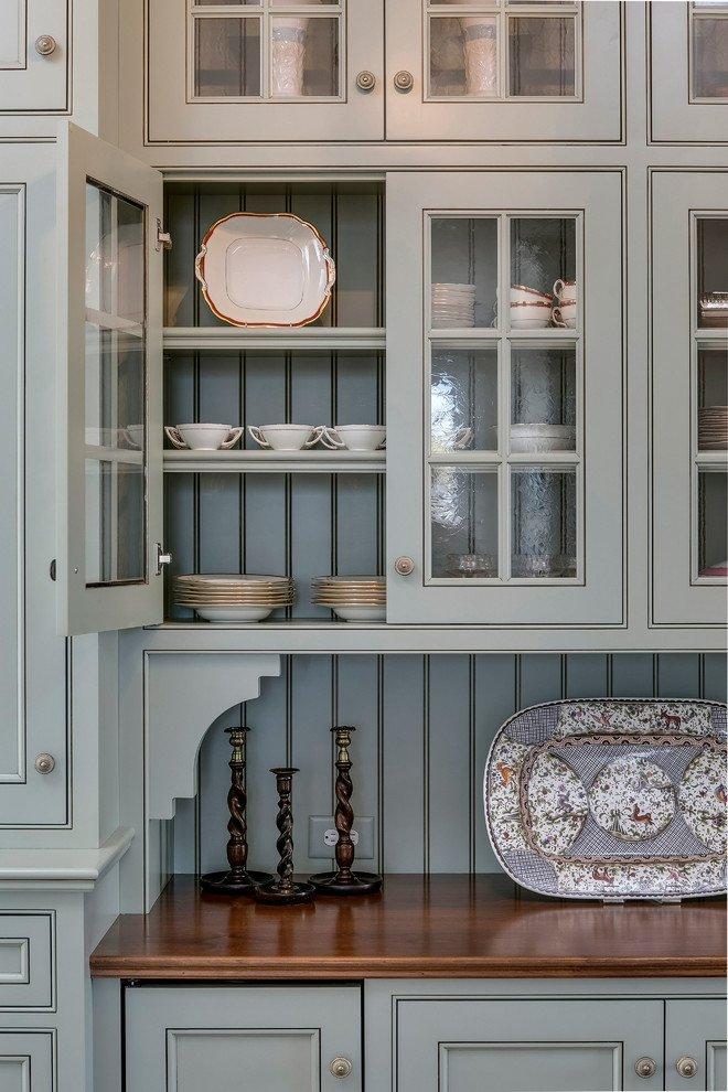 Farmhouse Rustic Grey Kitchen Cabinets