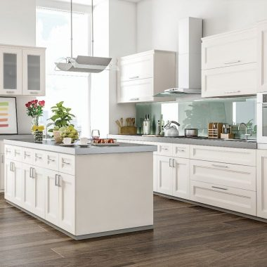 10X10 White Shaker Kitchen Cabinet