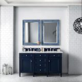 Brittany 60 Victory Blue Double Bathroom Vanity 04